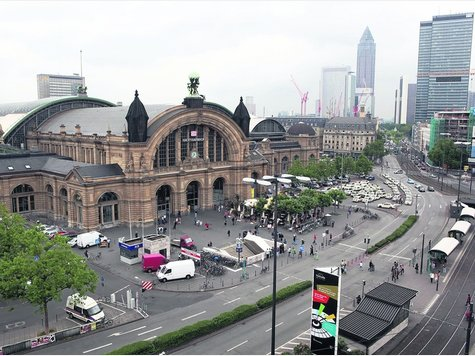 Autobusová stanica Frankfurt