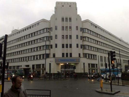 Autobusová stanica Londýn