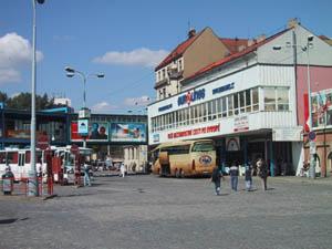 Autobusová stanica Praha Florenc 2