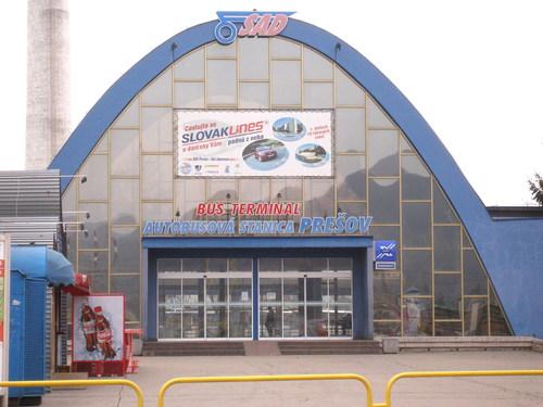 Autobusová stanica Prešov