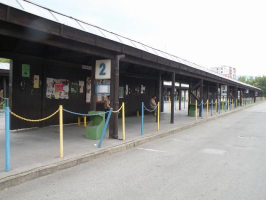 Autobusová stanica Rožňava 2