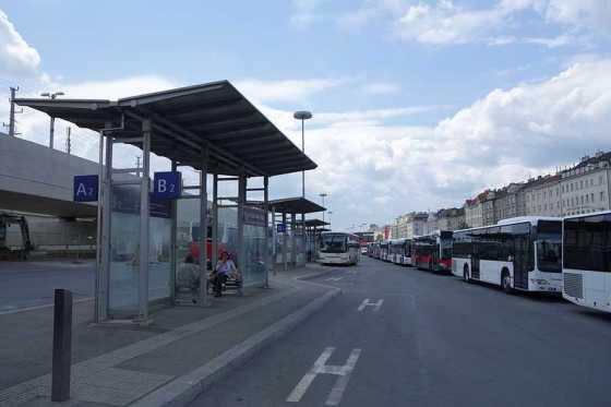 Autobus Viedeň HBF