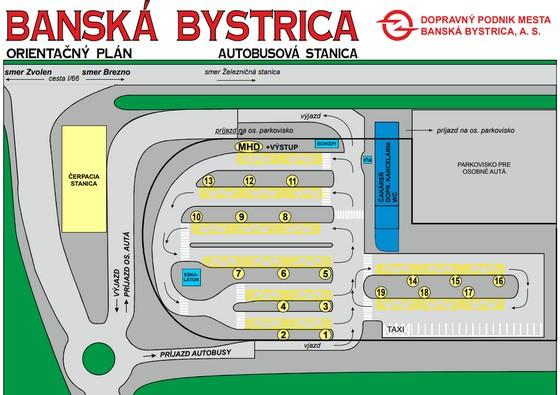 Nová Autobusová stanica Banská Bystrica