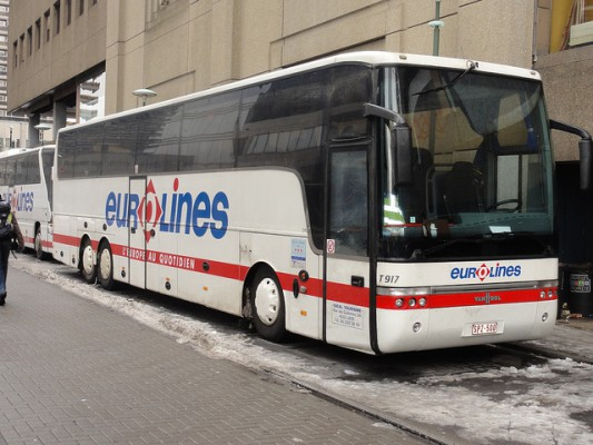 Autobusová stanica Brusel