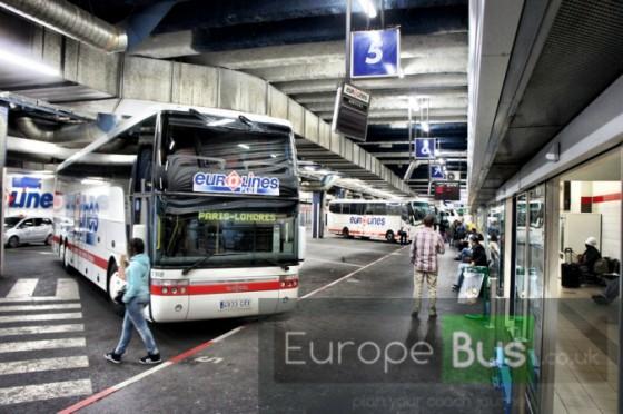 Autobus Paríž